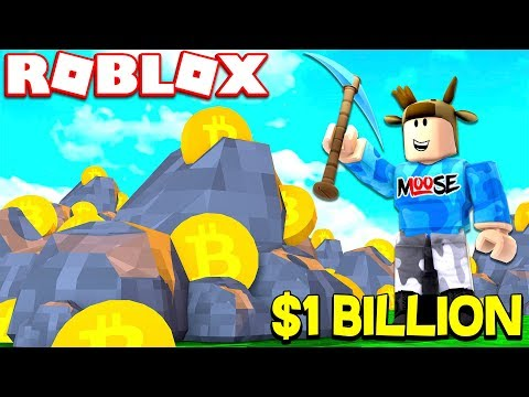 BITCOIN MINING SIMULATOR IN ROBLOX! (MAKING $1 BILLION FROM BITCOINS)
