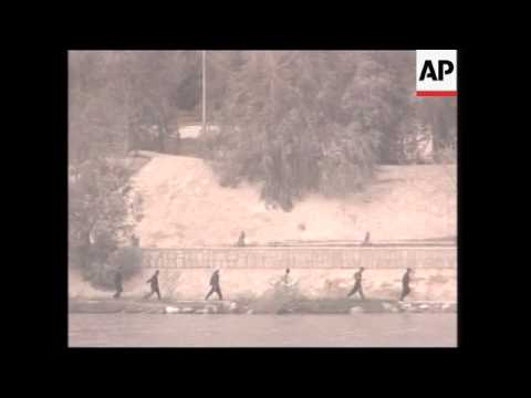 Tigris River Fight, Mohammed Saeed Al-Sahhaf
