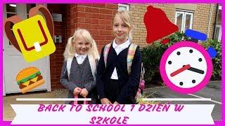 BACK TO SCHOOL PIERWSZY DZIEŃ SZKOŁY POBUDKA !!! karolina g