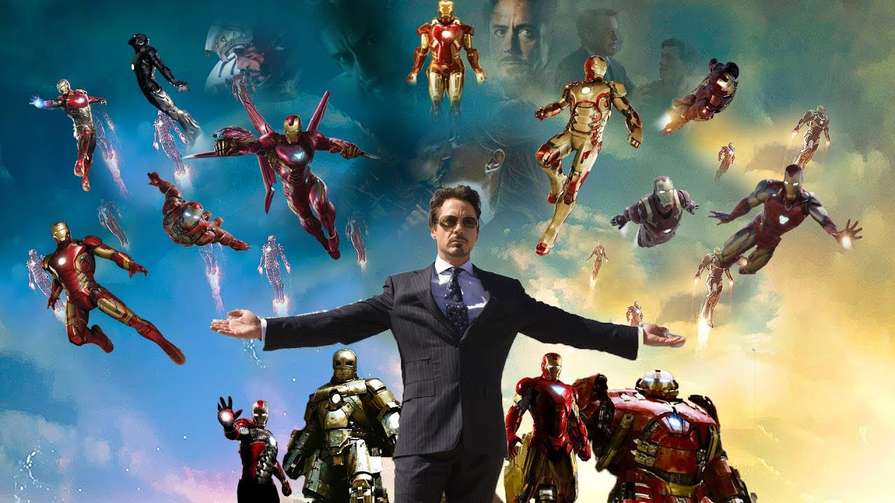 Download All Ironman suit-ups (2008-2019) in 4K