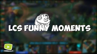 LCS/LCK Funny Moments 2016  (League of Legends)