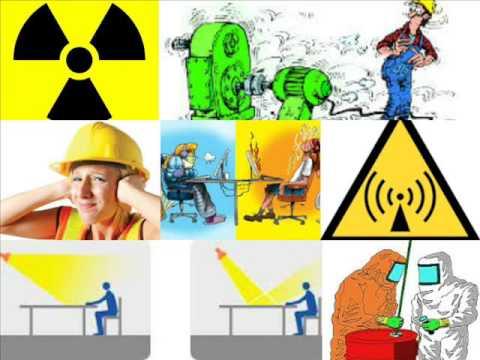 Factores de riesgo laboral - YouTube