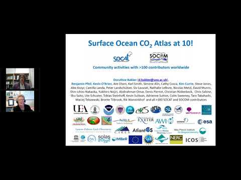 Surface Ocean CO2 Atlas SOCAT with Dorothee Dr Dorothee Bakker (UEA) and Dr Kim Currie (NIWA)