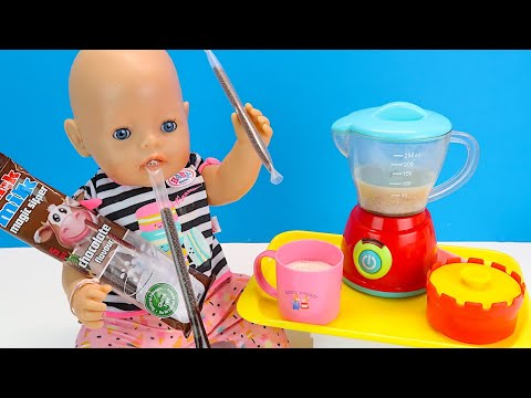 Беби Бон не Умеет Пить Какао Через Трубочку  Мультики для детей Куклы Пупсики 108мама тв