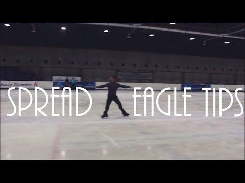 Figure Skating: Spread Eagle Tips w/ My Dad!