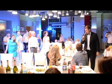 Ведущий Сергей Коменда - танцевальный флешмоб на свадьбе