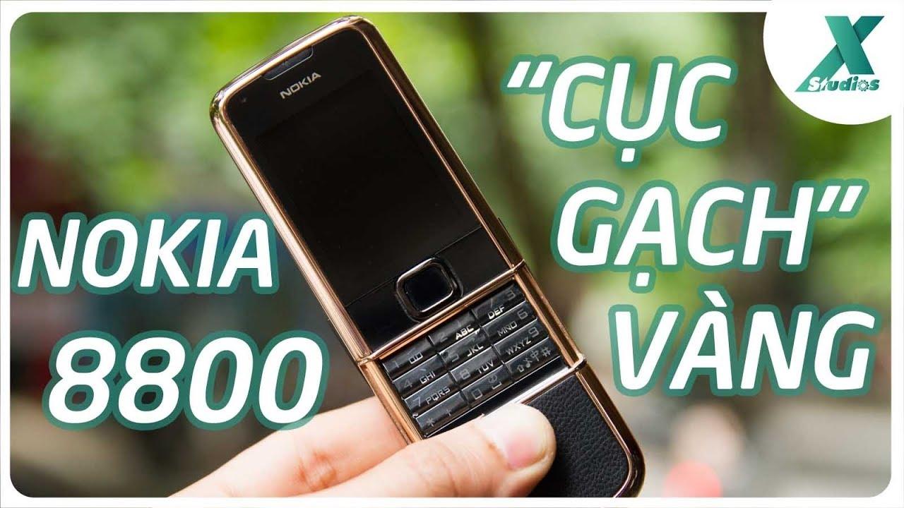Đánh giá (lại) Nokia 8800 – cục gạch vàng….