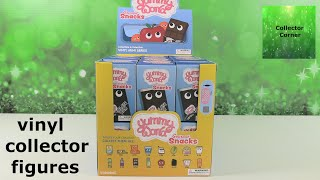 Yummy World Gourmet Snacks Kidrobot Collectible Vinyl Figure Unboxing   CollectorCorner