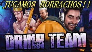 DRINK TEAM l BARRY&LAZA&GARMY BORRACHOS!!LA PARTIDA MAS RISAS DE MI VIDA!!