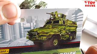 Распаковка и обзор МАШИНОК. Самые новые модельки машин военной техники.