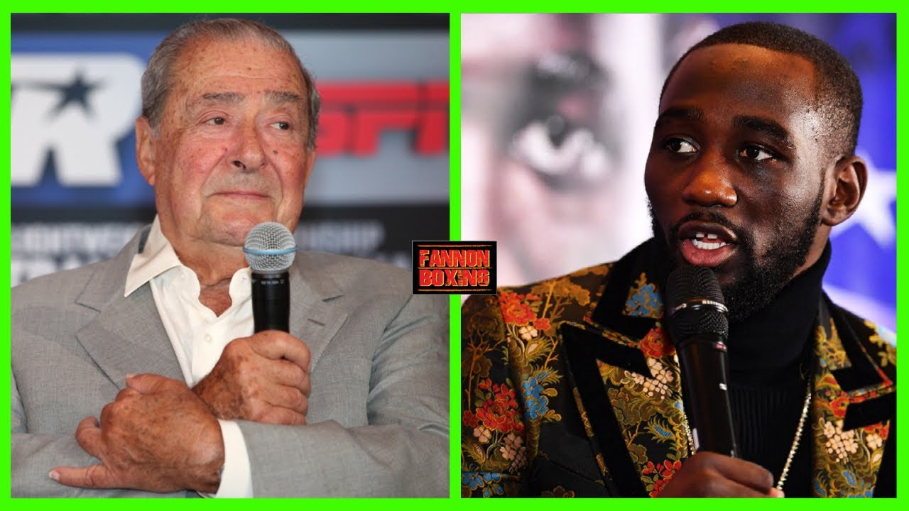 """(WOW!!) BOB ARUM SAYS """"F*CK CRAWFORD'S LEGACY"""", HE HAS TO FIGHT PORTER, TIRED LOSING MONEY ON """"BUD""""!"""