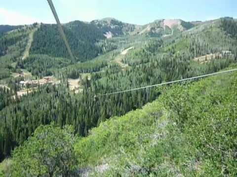 Lynn Lee Zip Lining Park City, Utah