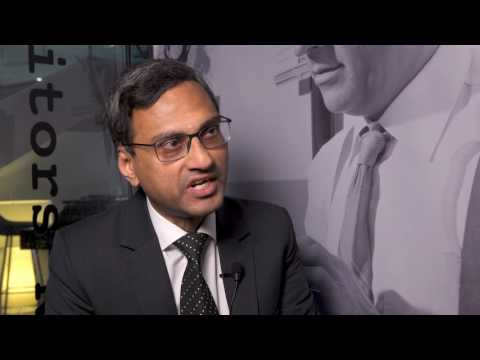 Athmanatha Sharma, CFO, ABB AB at 600Minutes Executive Finance 2017, Sweden PART 1