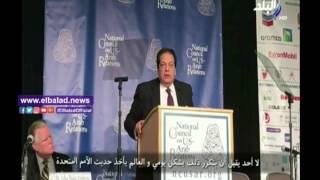 أبو العينين : لا أحد يقبل مشاهدة القتل والدمار يوميا في الدول العربية .. فيديو