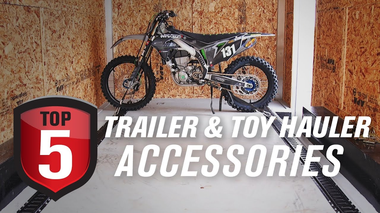 Top 5 Trailer Toy Hauler Accessories For Securing Your Dirt Bike Atv And Side X Side