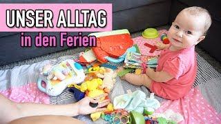 Unser Alltag in den Ferien | Babytrage kaputt | DIANA DIAMANTA