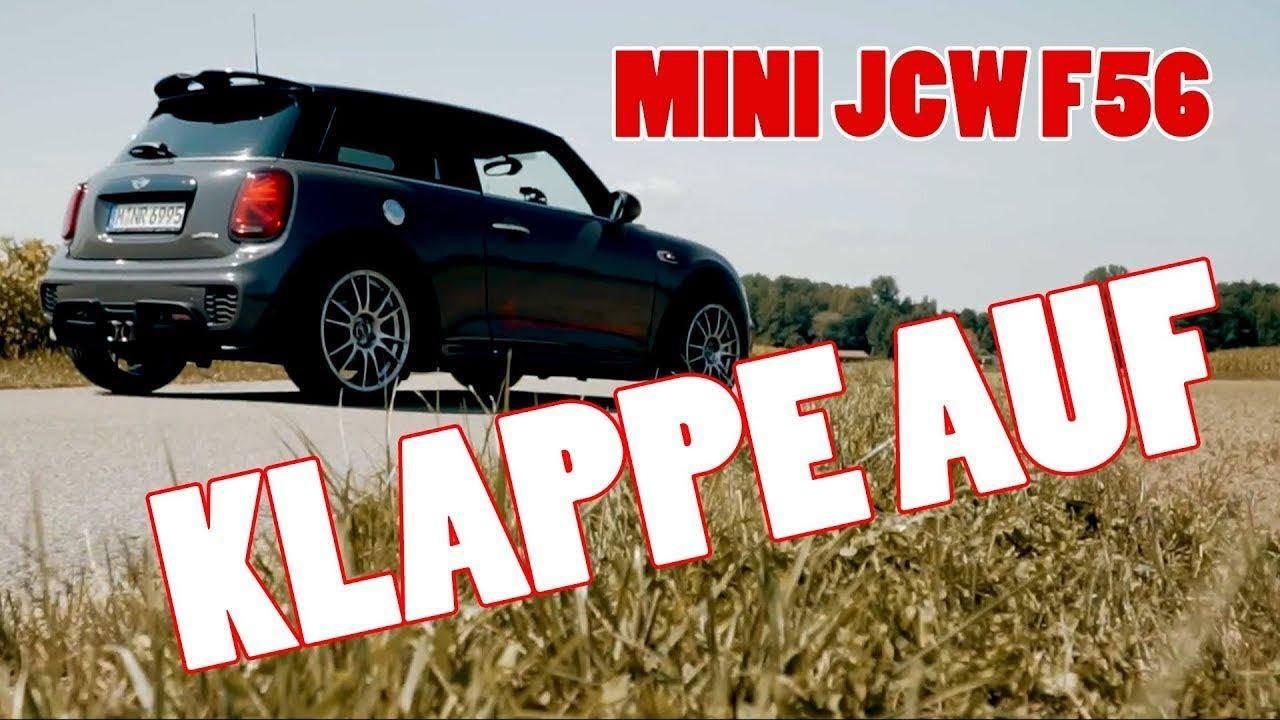 Klappe Auf 290 Ps Im Mini John Cooper Works Youtube