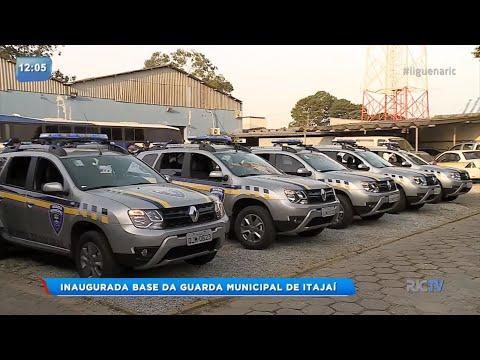 Prefeitura de Itajaí inaugura base da Guarda Municipal
