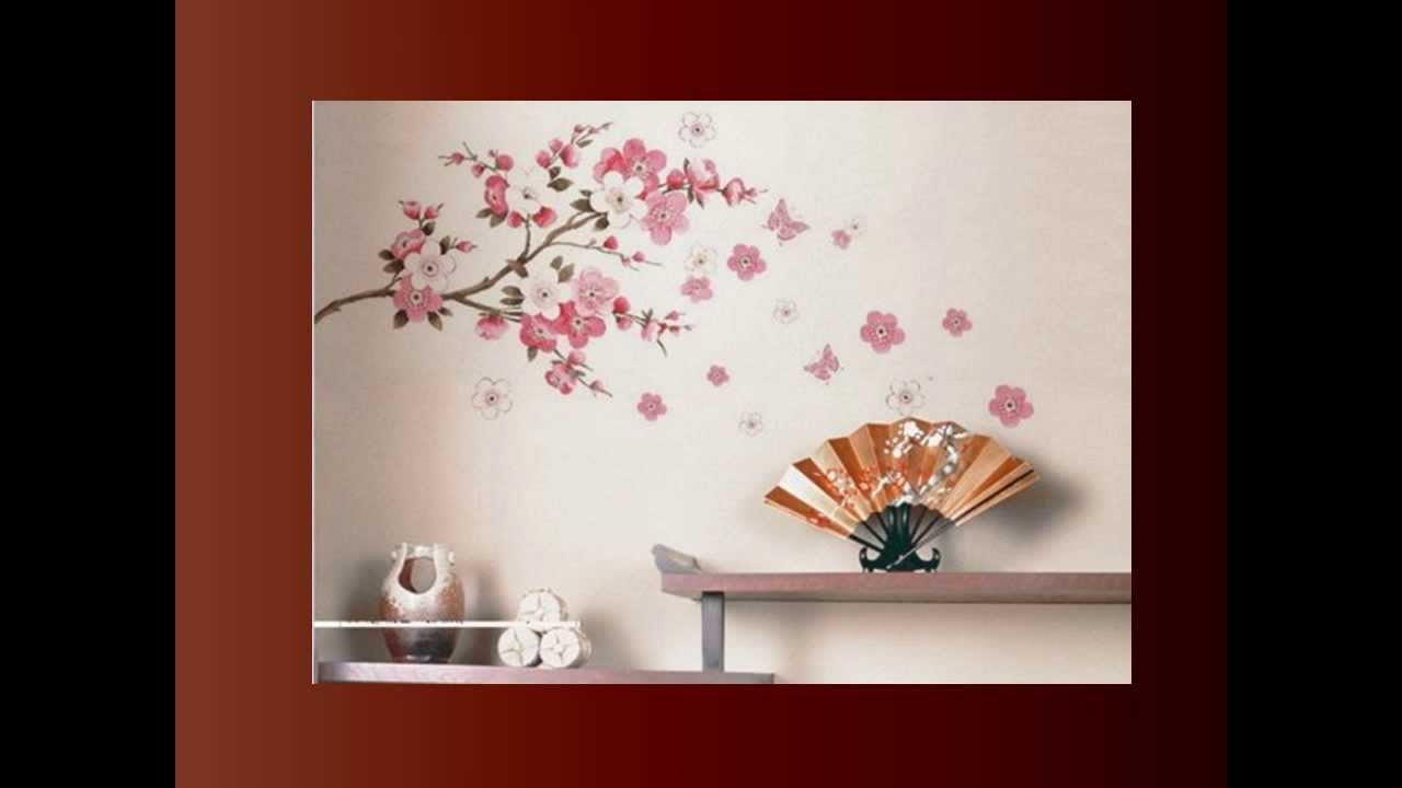 Cherry Blossom Wall Art   YouTube Part 72