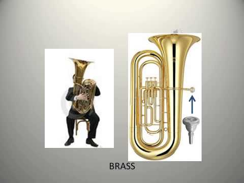 Orchestral Instruments Bingo No names