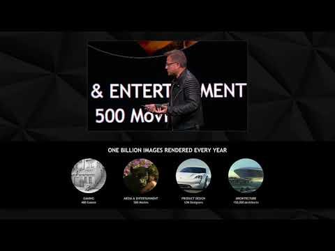 Презентация NVIDIA GTC 2018 на русском языке. Будущее уже Наступило!