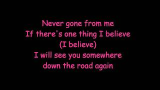never gone backstreet boys (lyrics)