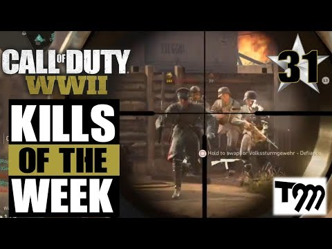 Call of Duty WW2 - TOP 10 KILLS OF THE WEEK #31 (COD Top Plays)