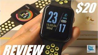 REVIEW: F8 Smartwatch - Budget Apple Watch Clone? - Waterproof [$20]
