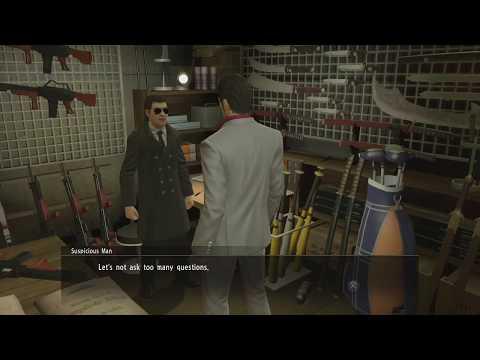 Yakuza Kiwami: Secret Weapons Shop