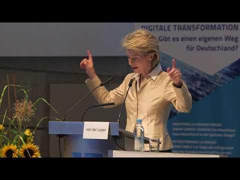 Konferenz Digitale Transformation - Keynote Dr. Ursula von der Leyen