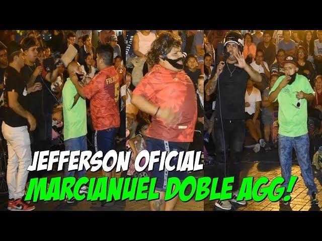 """Jefferson ft Figurita y Frejolito Jr // """"Marcianuel doble agg"""" // Cómicos Ambulantes del Perú."""
