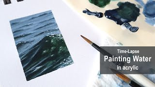 Painting Water Time-Lapse