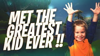 I Met The Greatest Kid Ever In Duos !! (Fortnite Battle Royale)