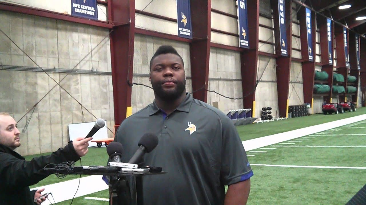 Linval Joseph on his desire to join the Vikings