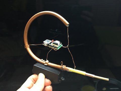Integrated Copper Pipe Coil And Variable Cap For FM Crystal Radio
