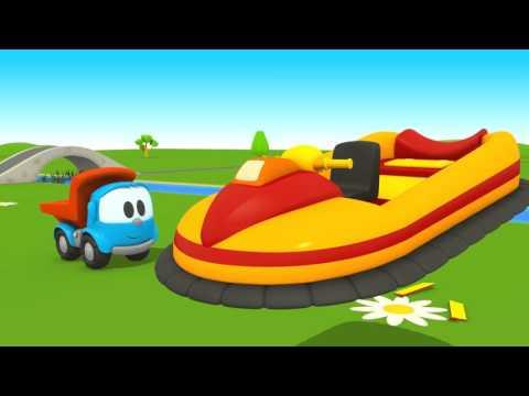 Leo Junior Ve Hovercraft – Çizgi Film Türkçe Izle. Leo Junior Lifty'e Yardım Ediyor