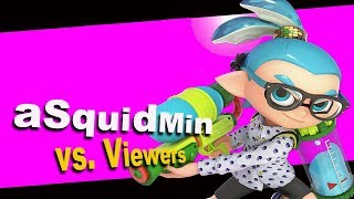 Super Smash Bros. Ultimate Live Stream  | aSquidMin