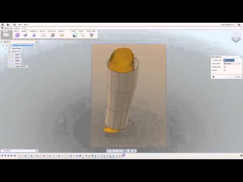 Autodesk Fusion 360 Mesh Modeling - YouTube