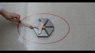 Trammel of Archimedes - Do Nothing Machine part 2 // Homemade Science with Bruce Yeany