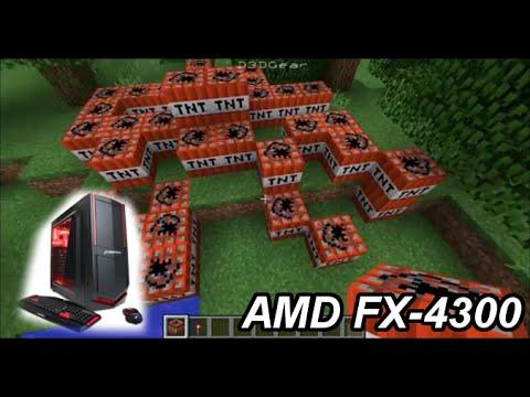 Minecraft Amd Fx 4300 Amd R7 240 8gb Ram Youtube