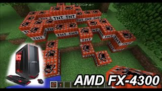 Minecraft: AMD FX-4300 + AMD R7 240 + 8GB RAM