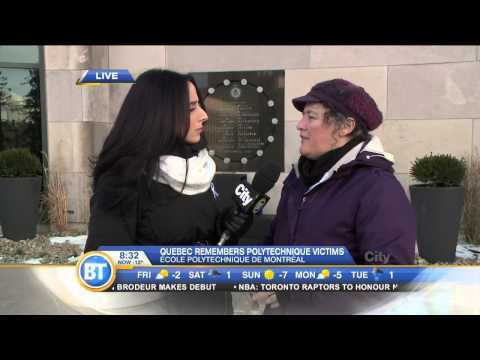 The President of the Quebec Women's Federation on Polytechnique