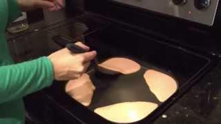 Recetas de cocina. Cómo hacer Panquecas sabrosas y nutritivas con Avena y Zanahoria