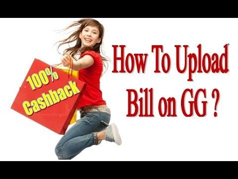 How To Upload Bill On Global Garner for 100% Cashback