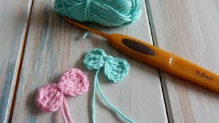 Welcome to this week's crochet tutorial, this time for a teeny tiny bow! Please remember to subscribe by clicking the subscribe button, and you will be notified of ...