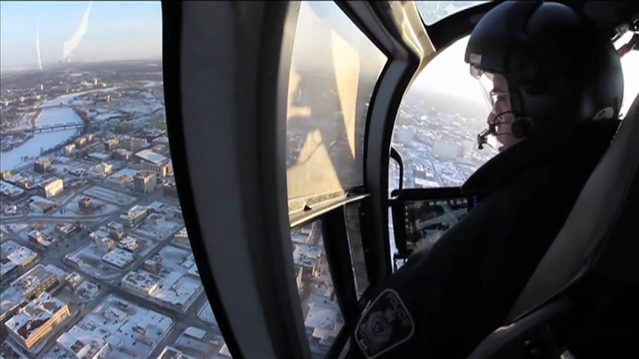 First Look Inside The Police Helicopter
