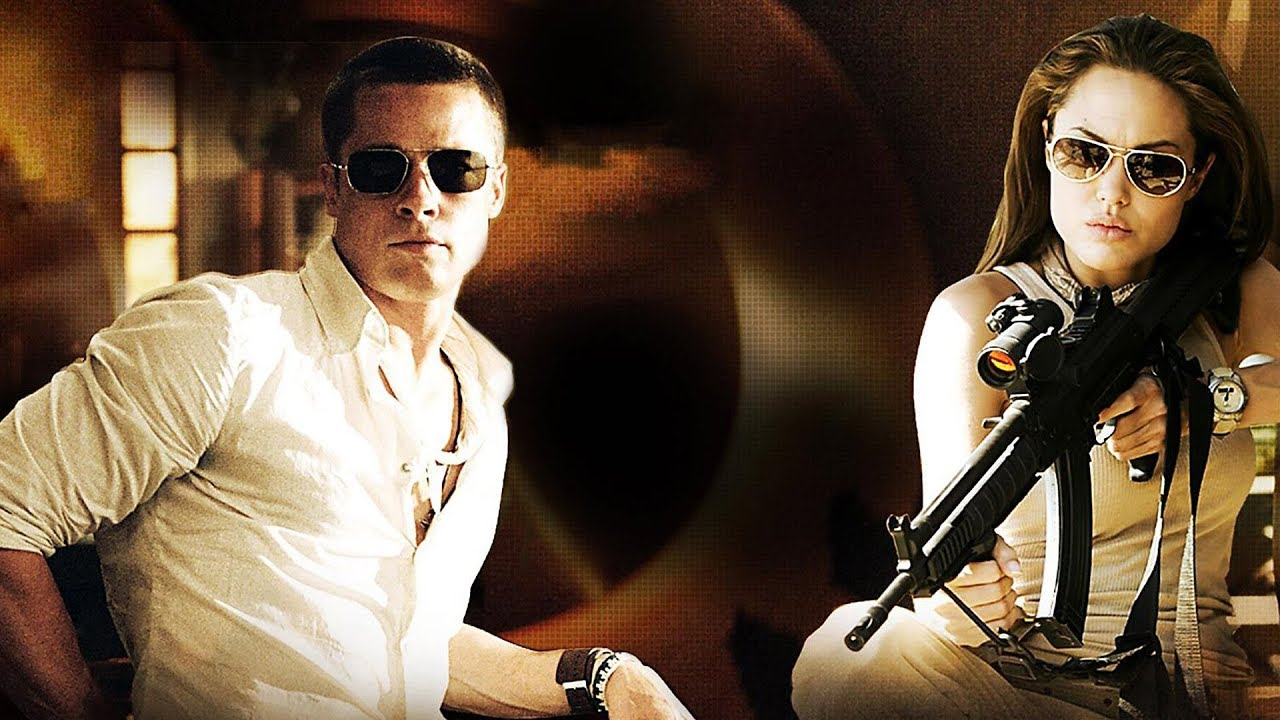Download Mr and Mrs Smith (2005) Full Movie   Best Hollywood Action Movie Of All Time Full 1080