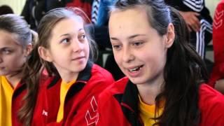 Всеукраїнські змагання з гандболу в Хотині