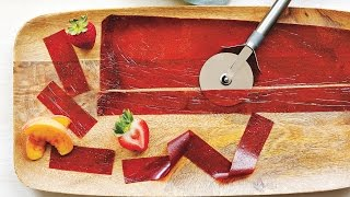 Peach Strawberry Fruit Leather   Cooking Light