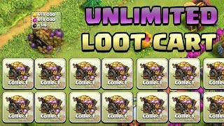 CLASH OF CLANS | Unlimited Loot Cart Glitch | Update Glitch |  2018 |